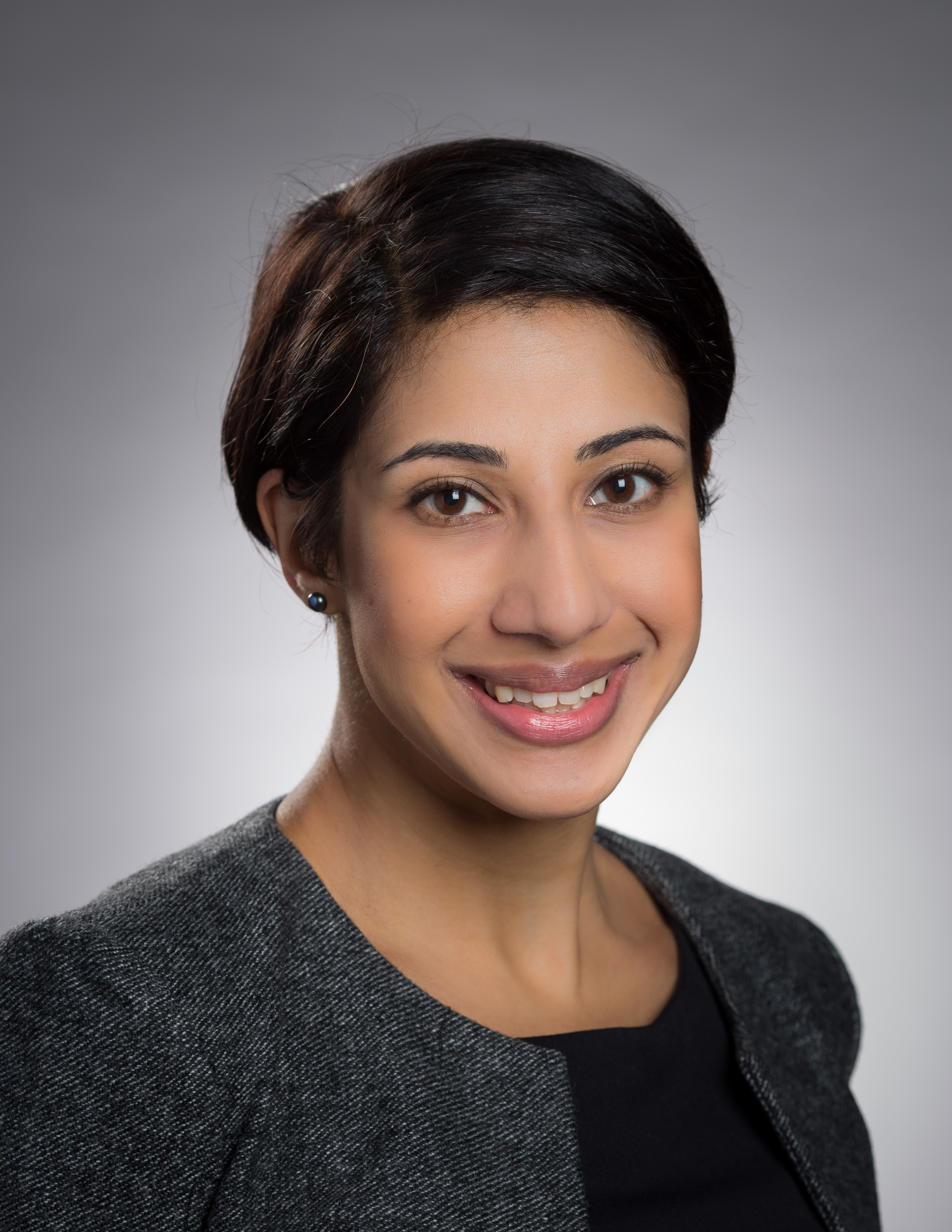 This is a photo of Sabreena Delhon, who is the manager of the Action Group on Access to Justice or TAG, a project based at the Law Society of Upper Canada